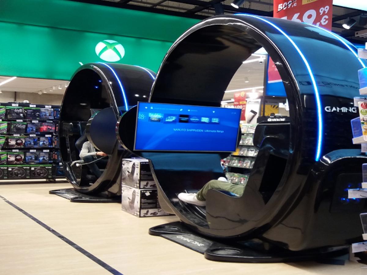 Console de jeu vidéo en fibre de verre